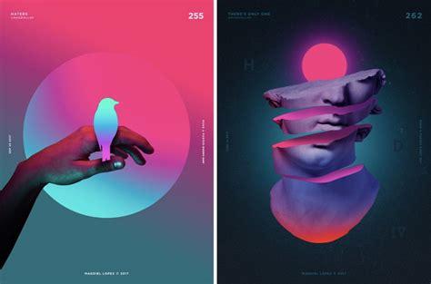 top graphic design trends predictions 2019 merehead design trends ideas graphic design