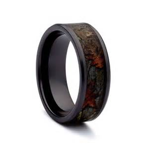 camo wedding rings black titanium wedding bands by 1 camo - Black Wedding Bands For