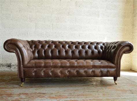 Leather Chesterfield Sofas by Chesterfield Sofas Montana Leather Chesterfield Sofa