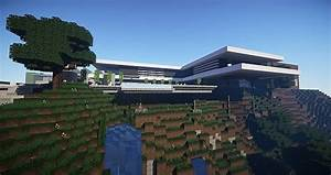 Modern Mountain House - Showcased by Keralis - Minecraft ...