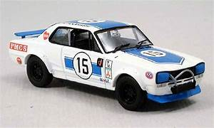 Nissan Skyline 2000 miniature GTR racing bleu Kyosho 1/43 Voiture miniature