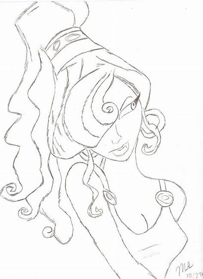 Hercules Meg Deviantart Drawings Fan Deviant