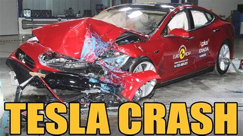 Tesla Model S Crash by Tesla Model S Crash Test