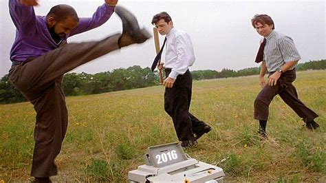 Office Space Smashing Printer by Remember The Printer From Office Space Yeah