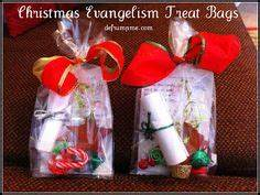 Bringing Christmas back to Christ Goo bags to hand