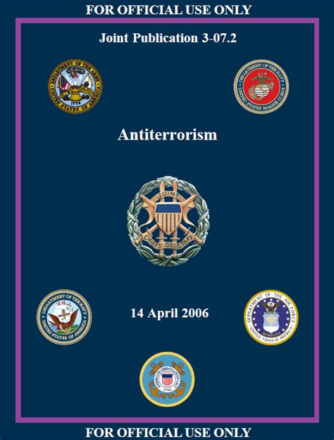 jko help desk number us antiterrorism jp3 07 2 2006 pdf