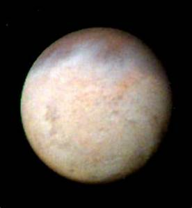 The surface of Neptune's moon Triton is partially made up ...