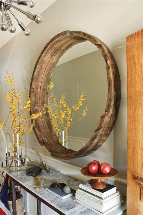 diy mirror frame upcycle