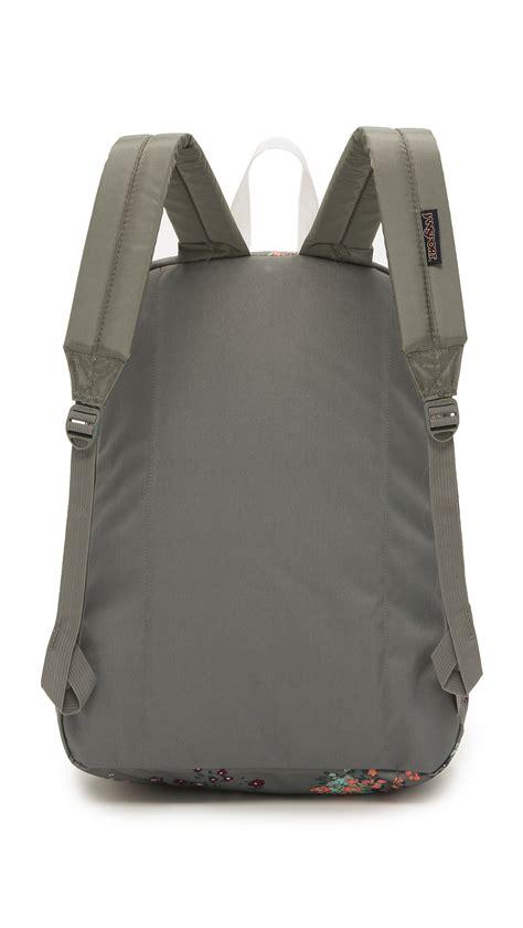 light grey jansport backpack jansport superbreak backpack shady grey sprinkled floral