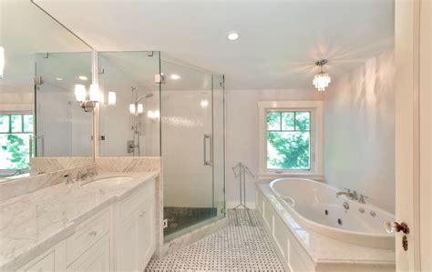 Bad En Suite by White En Suite Bathroom In West Vancouver Heritage Home