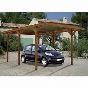 Abri Voiture En Bois : abri de jardin en bois pas cher belgique 10 carport 1 ~ Nature-et-papiers.com Idées de Décoration