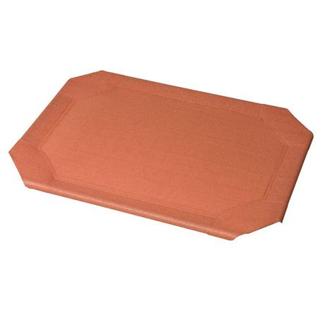 coolaroo bed large coolaroo large size pet bed replacement cover terracotta