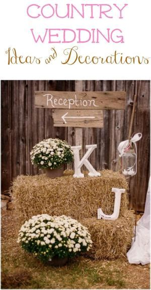 do it yourself country wedding decorations do it