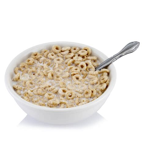 bowl of cereal o s