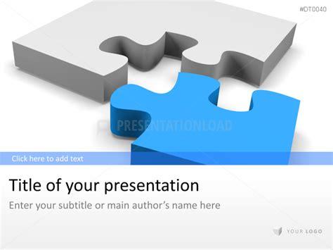 powerpoint vorlagen im puzzle stil presentationload