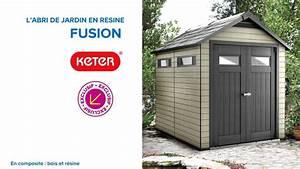 Toiture Abri De Jardin Castorama : abri de jardin en r sine fusion 759 keter 676227 ~ Farleysfitness.com Idées de Décoration