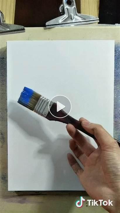 Painting Tiktok Paintings Abstract Malerei Canvas Realistic