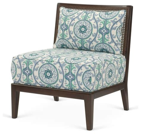inglewood chair teal white contemporary armchairs and
