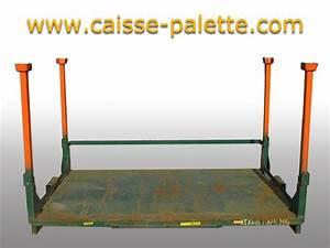 Caisse Palette Métallique : caisse palette m tallique d 39 occasion destockage grossiste ~ Edinachiropracticcenter.com Idées de Décoration