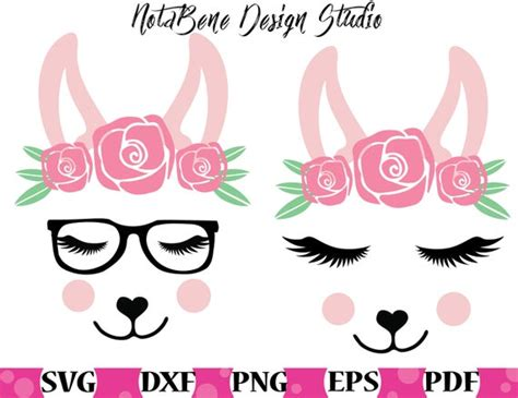 Create something special for mom this mothers day with this mama llama svg file, perfect for personal diy craft projects or handmade business product lines. Llama SVG Cute Llama Face Girly T-shirt DesignCute Llama ...
