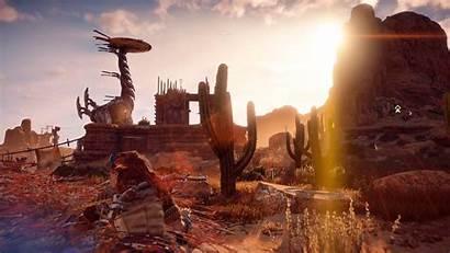 Horizon Dawn Zero Aloy Science Fiction Games