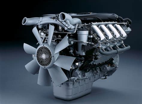 Engine Motors V8 Scania