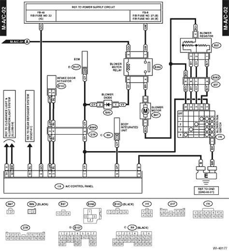 Subaru Crosstrek Service Manual Air Conditioning System