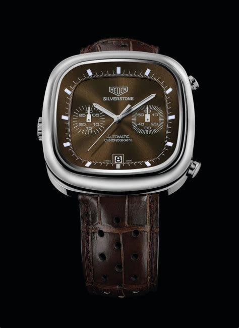 tag heuer watches tag heuer re release limited edition silverstone