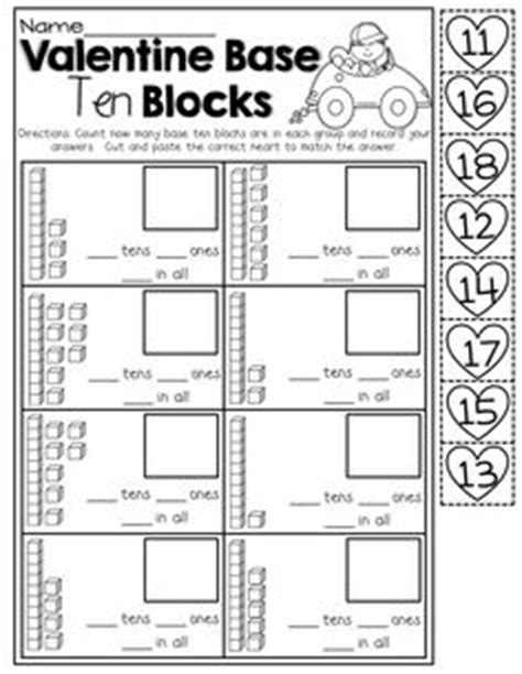 13 best images of base ten cut and paste worksheet base