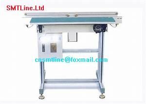 Double    Single Guide Smt Line Machine Belt Conveyor