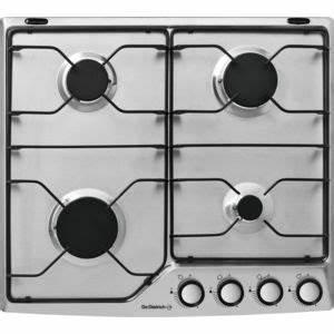 Table De Cuisson Gaz 4 Feux : de dietrich table de cuisson gaz mail 4 feux inox ~ Edinachiropracticcenter.com Idées de Décoration