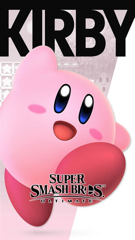 super smash bros ultimate kirby wallpapers cat  monocle