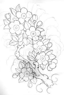 drawings of cherry blossom sunflower design | ink n blood: June 2010 | Flower tattoo designs