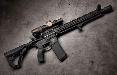 Defense Daniel Ddm4 Rifle Weapons Assault Optics