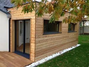 extension de maison en bois sans permis de construire With ordinary exemple plan de maison 12 photos extension ossature bois