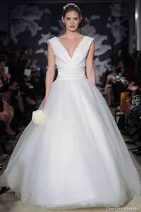 carolina herrera bridal spring 2015 wedding dresses With carolina herrera wedding gowns