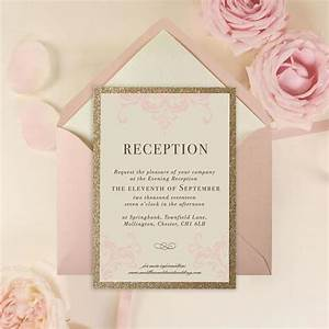 evening wedding invitations cartalia With evening wedding invitations rose gold