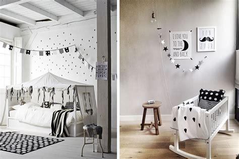 idée couleur chambre bébé fille chambre enfant déco noir et blanc e interiorconcept