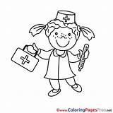 Krankenschwester Ausmalen Malvorlage Zum Ausmalbild Ausmalbilder Nurse Spiderman Bildtitel Coloring Schulranzen Lillifee Bambi Weltkarte Malvorlagen Blume Rose Colouring Berufe Chainimage sketch template