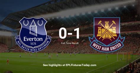 Fri 01 Jan 2021: Everton vs West Ham United ...