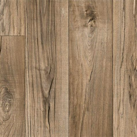 vinyl plank flooring rustic trafficmaster rustic weathered oak plank residential vinyl sheet 6 in x 9 in take home