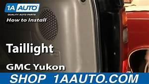 How To Replace Tail Light 00-03 Gmc Yukon