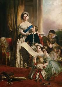 Pflaume Königin Viktoria : k nigin viktoria von england mit ihren k john calcott horsley als kunstdruck oder handgemaltes ~ Eleganceandgraceweddings.com Haus und Dekorationen