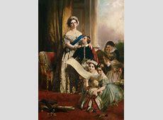 Königin Viktoria von England mit ihren K John Calcott