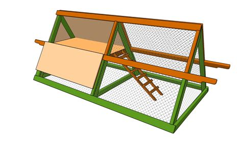 easy to build chicken coop build simple chicken coop howtospecialist house plans 10570