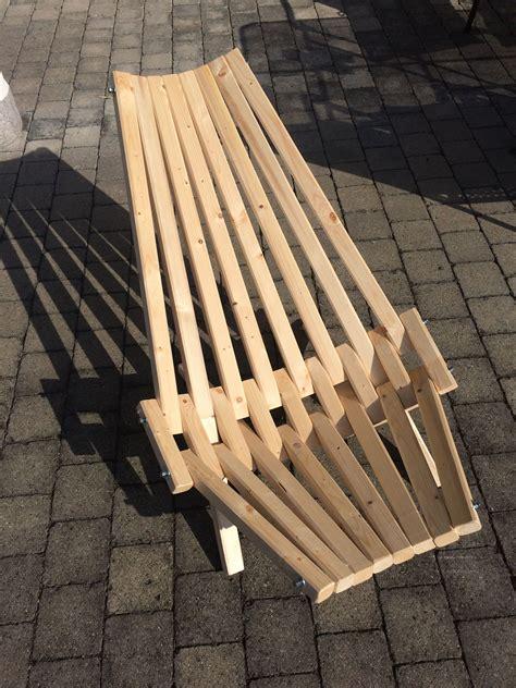 liegestuhl aus dachlatten liegestuhl basteln dachlatten