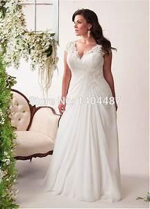 vestidos de novia plus size bohemian wedding dresses beach With plus size chiffon wedding dresses