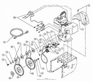 Mtd 31ae740f000  1998  Parts Diagram For Belt Drive