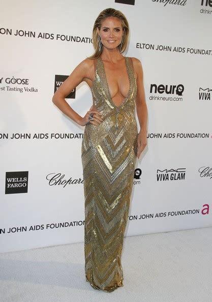 Heidi Klum Photos The Elton John Aids