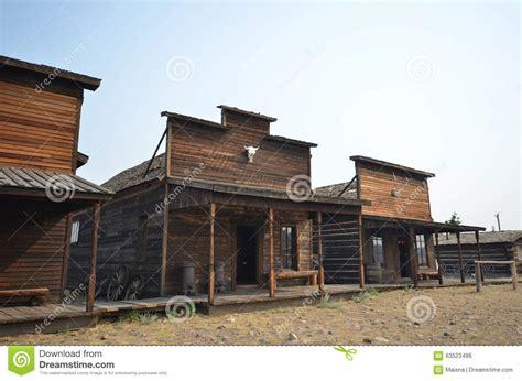 Wild West Architecture Stock Photo  Image 63523496